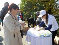 Дегустация молочных продуктов на Третьем Ежегодном фестивале молока