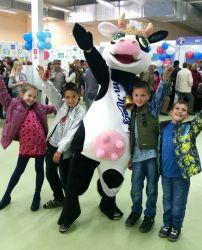 Промо-акция Третий ежегодный фестиваль молока